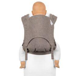 Fidella Flyclick Plus - Halfbuckle Bæresele - Chevron - Walnut - Toddler-0
