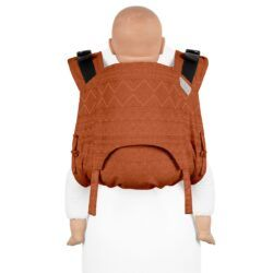 Fidella Onbuhimo - Back Carrier Bæresele - Cubic Lines/Rustred - Toddler-0