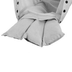 Uldmadras til NONOMO Hængevugge (0-15kg) - Grå-0