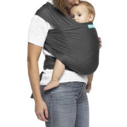 Moby - Wrap Evolution Strækvikle - Charcoal-0