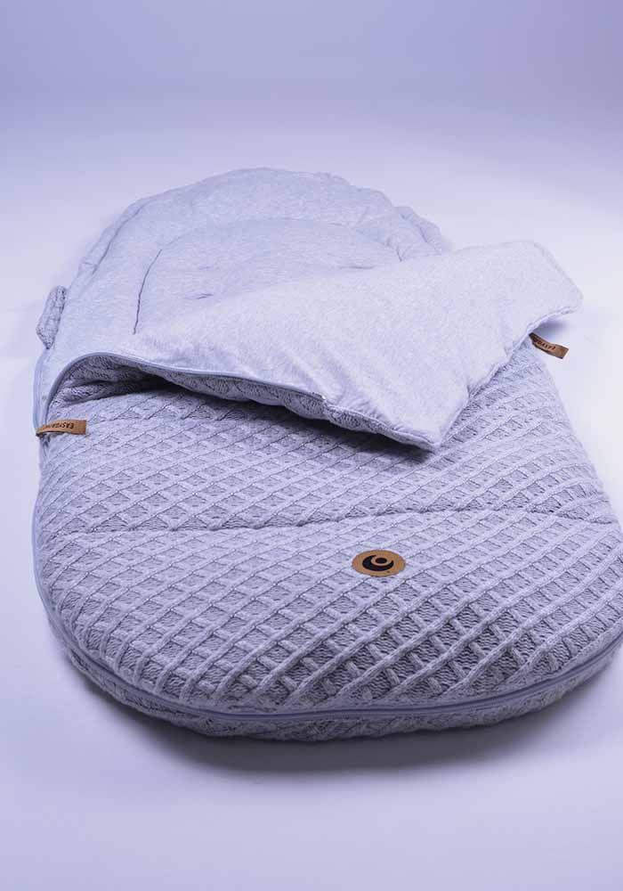 Easygrow GRANDMA SAGA Sovepose - Grey Melange-5780