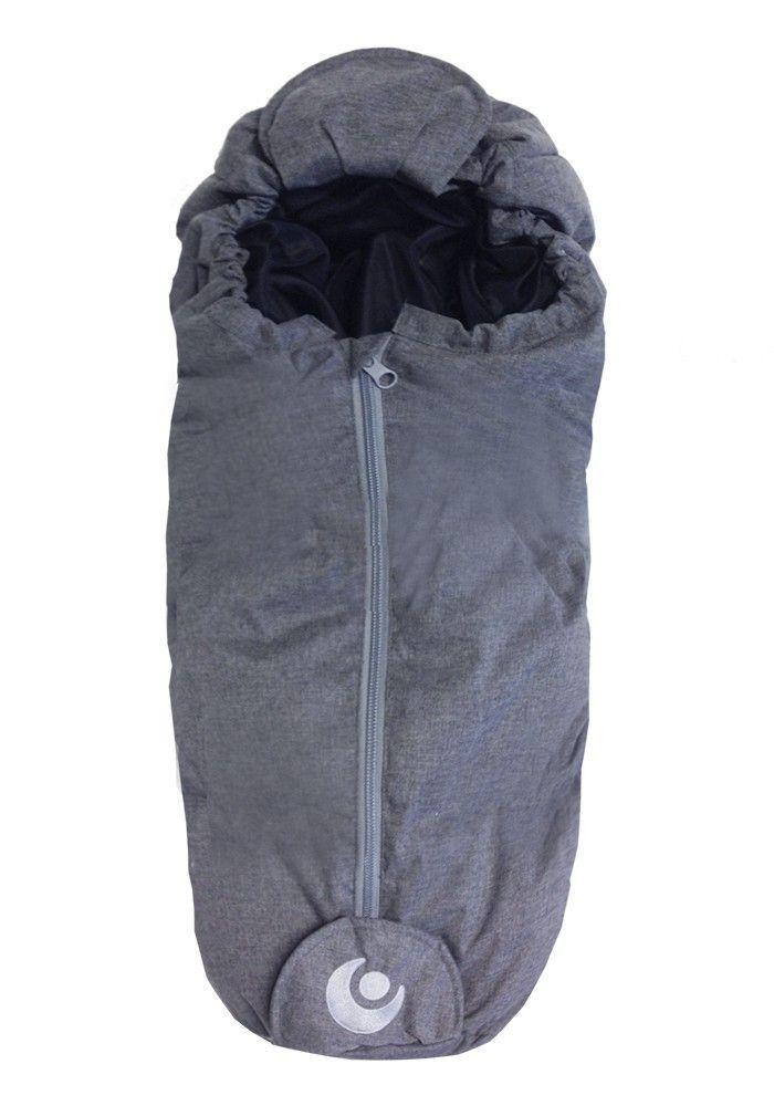 Easygrow Dukke Kørepose - Grey Melange