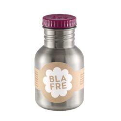 Stålflaske 300ml (Blommerød)-0