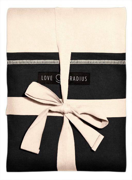 Love Radius - Original Strækvikle - Ecru/Sort med Lomme-5347