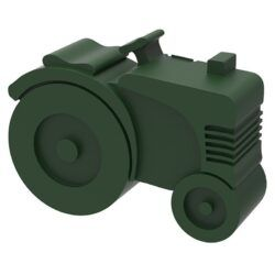 Madkasse traktor (mørk grøn)-0