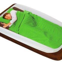 Shrunks® udendørs Familie rejseseng - (Maxaire fodpumpe + sengebeskytter)-0