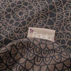 fidella_wrap_vikle_slynge_bæresele_baby_mosaic_mocha_brown