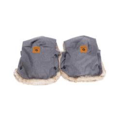 Easygrow Hand Muffs Grey Melange-0