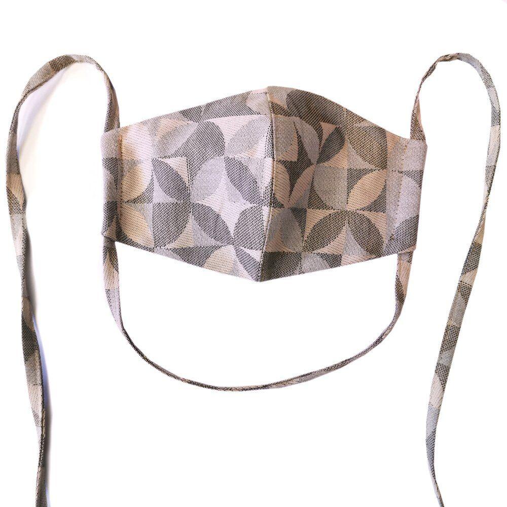FIdella Mundbind-Kaleidoscope-Sand med bindebånd-0