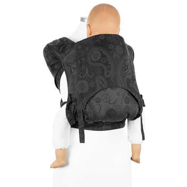 Fidella - FlyClick Half-Buckle Bæresele - PersianPaisley/Anthracite - Toddler-4811