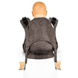 Fidella_fusion_2.0_full_buckle_baby_carrier_mosaic_mocha_brown_brun_bæresele_slynge_vikle_toddler