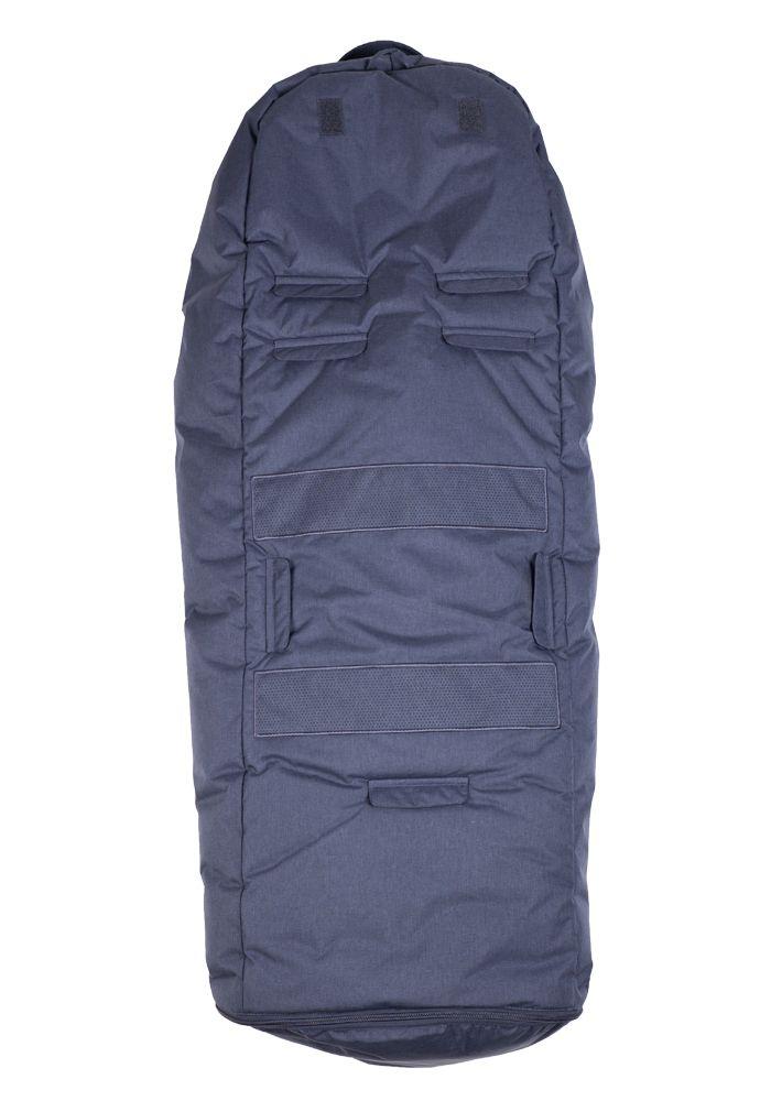 Easygrow Hood W Kørepose - Navy Melange-851