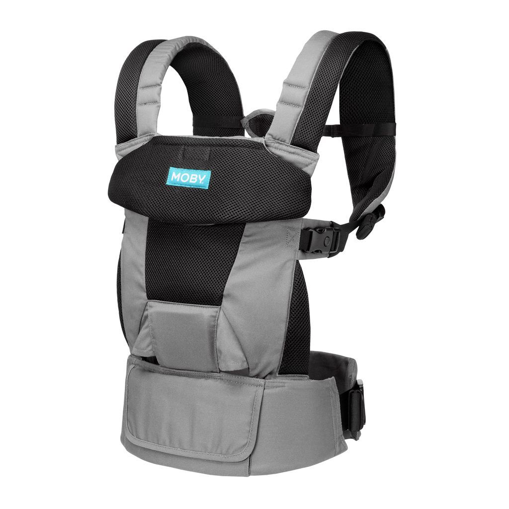 Moby Move 4 Position Carrier - Charcoal
