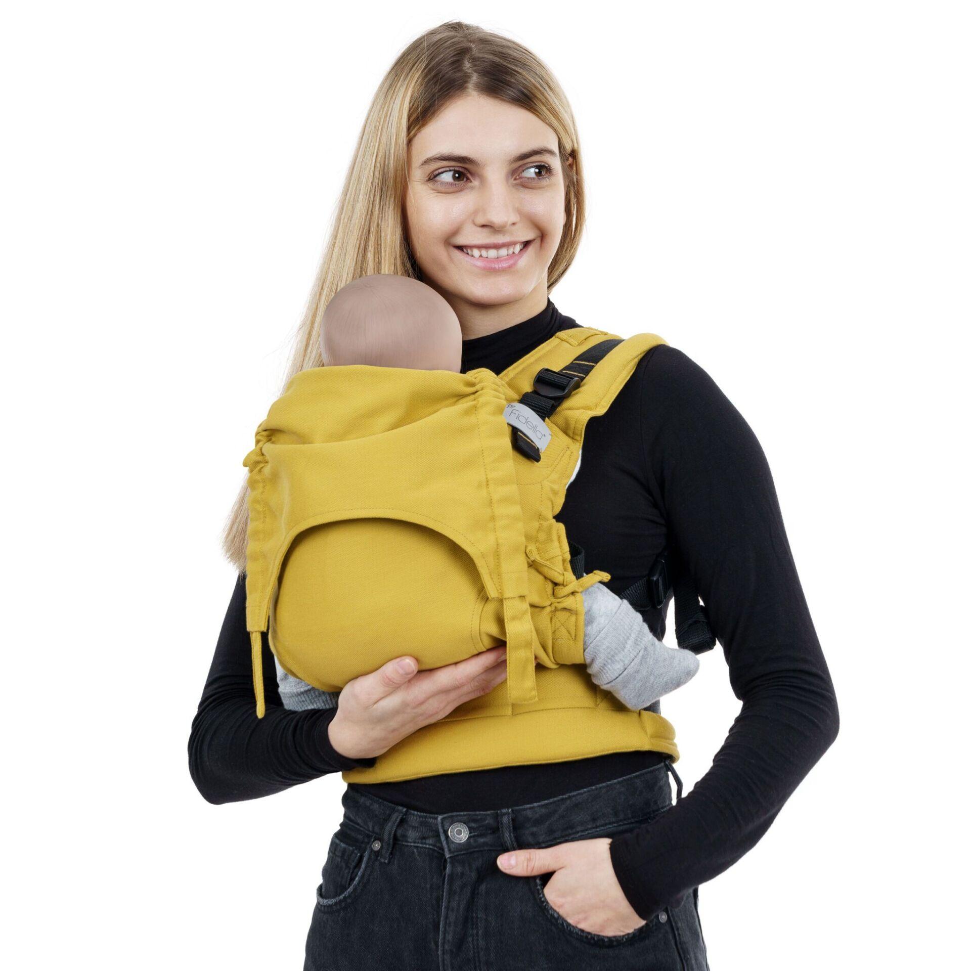 Fidella Fusion - Chevron/Mustard - Baby