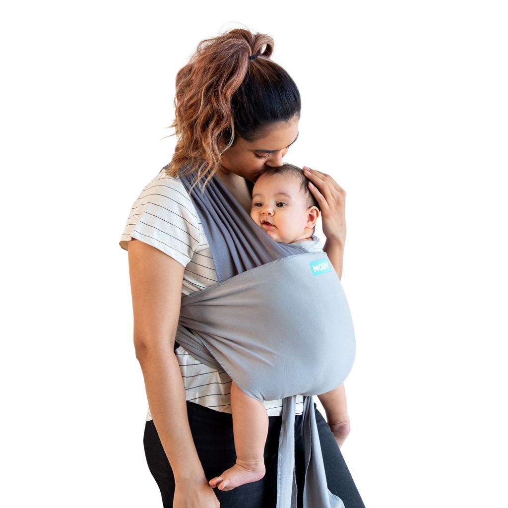 Moby Easy Wrap Carrier - Smoked Pearl