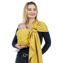 Fidella Ringslynge Chevron Mustard